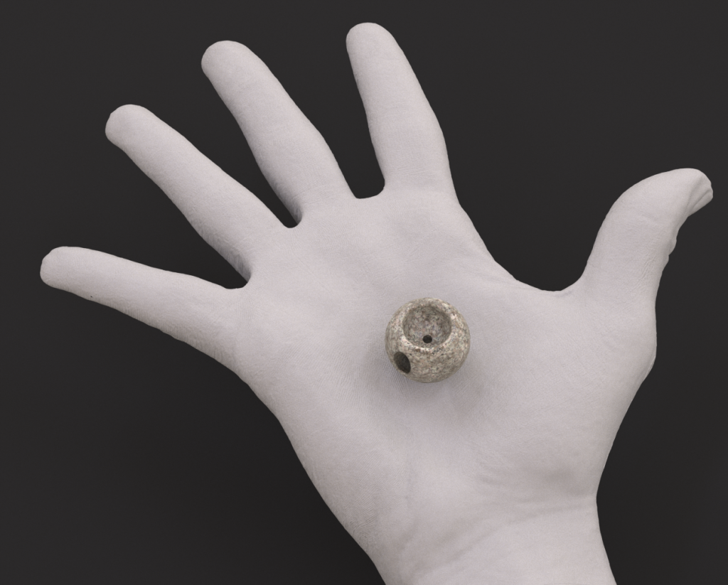 Magic Sphere Valve in the palm of your hand